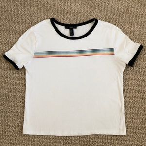 Forever 21 shirt with stripes